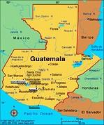 Guatemala-Landkaart