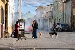 Straat in Guamote