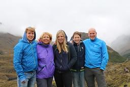 Anne Marie, Jan-Piet, Laurens, Iris en Pieter