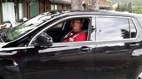 Jan vindt het heerlijk te rijden in Canada