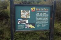 Informatiebord over Wai-o-Tapu