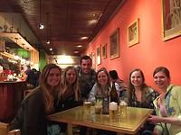 Eten in Potosi met Lisanne, Jack, Amy en de Amerikaanse meiden