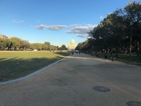 Groot park richting Capitol