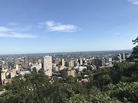 Uitzicht boven over Montréal