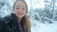 Nog even heel hard aan het genieten van de sneeuw!