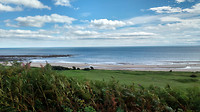 View of Alnmouth beach