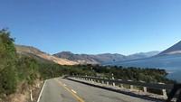 Lake Wanaka vanuit de bus