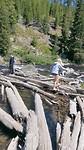 De rivier in