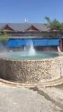 Warmwater bron in actie