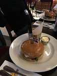 Hardrock Café vegetarische burger