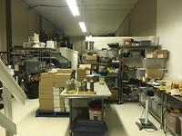 De productie ruimte