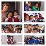 Students, teachers en kinderen in Banepa