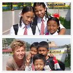 De kinderen in Banepa