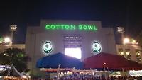 Cotton Bowl at night