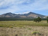 Aussicht zum Humphrey Peak bei Flagstaff