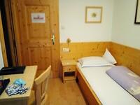 Zimmer statt Zelt für drei Nächte (Colfosco)