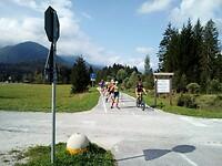 Sommertraining der Slowenen