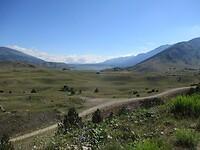 Blick zurück zum Blidinje Jezero