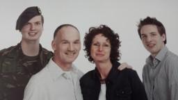 Koos, Carla, Mark en Thom van Velsen