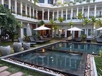 Het hotel in Siem Reap gaf ons echt het Bali gevoel