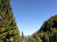 Hӓngebrücke op 176 meter hoogte