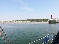 Haven ingang Boulogne sur Mer