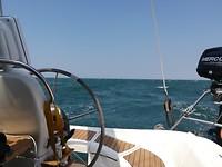 Op zee