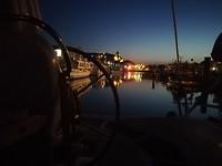 Le Treport by night vanaf de Kilcoe