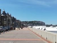 Mers le Bains (plaatsje naast Le Treport)