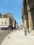 Straatje naast de Notre Dame