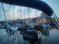 Boulogne by night (hoog water)