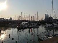 Boulogne in de ochtend (laag water)