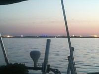 Concert at Sea vanaf de Kilcoe voor anker