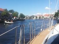 Ons uitzicht in Haarlem