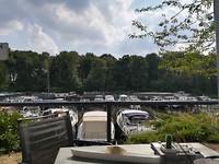 Terrasje pikken bij het Beatrixhaventje Eindhoven