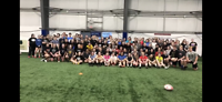Rugby safe tackle clinic
