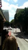 Cable cart ride in San Francisco