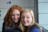 Wachtend op Warsaw Airport