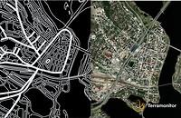 Rovaniemi city map