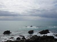 laatste ritje langs de kust