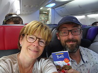 op weg naar Bali -Ubud