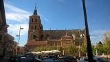 De oude kathadraal in Astorga