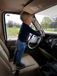 Onze kleine chauffeur