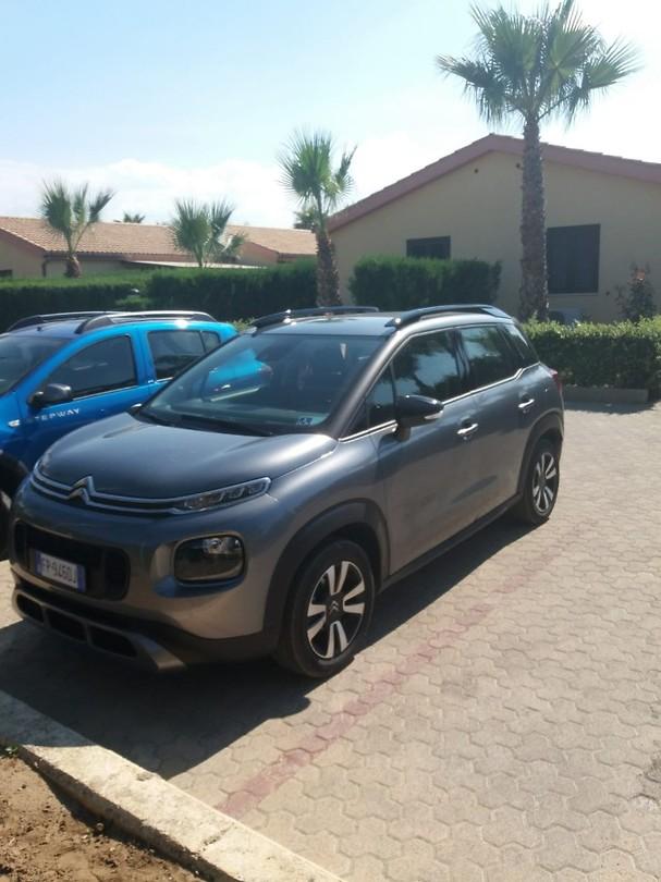 Onze gehuurde Citroën