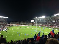 Rugby in Eden Park