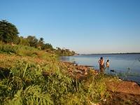 Rio Paraguay in Concepcion
