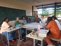 Werkgroep met docenten