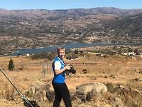 Uitzicht onderweg naar Swaziland