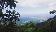 Uitzicht vanaf vulkaan Mombacho