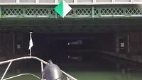 Invaart vanuit Port Arsenal naar Canal St Martin
